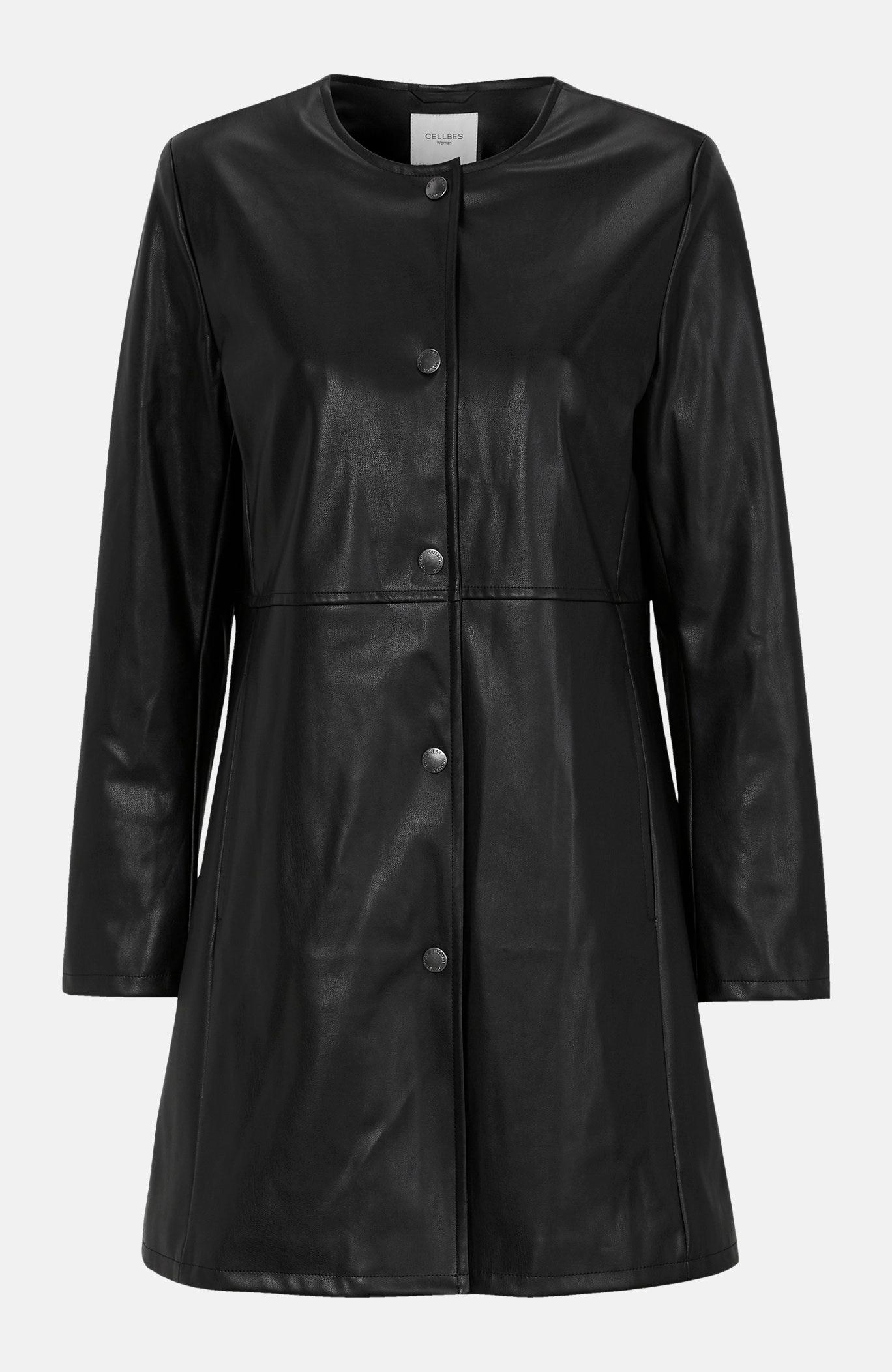 Kunstnahast mantel