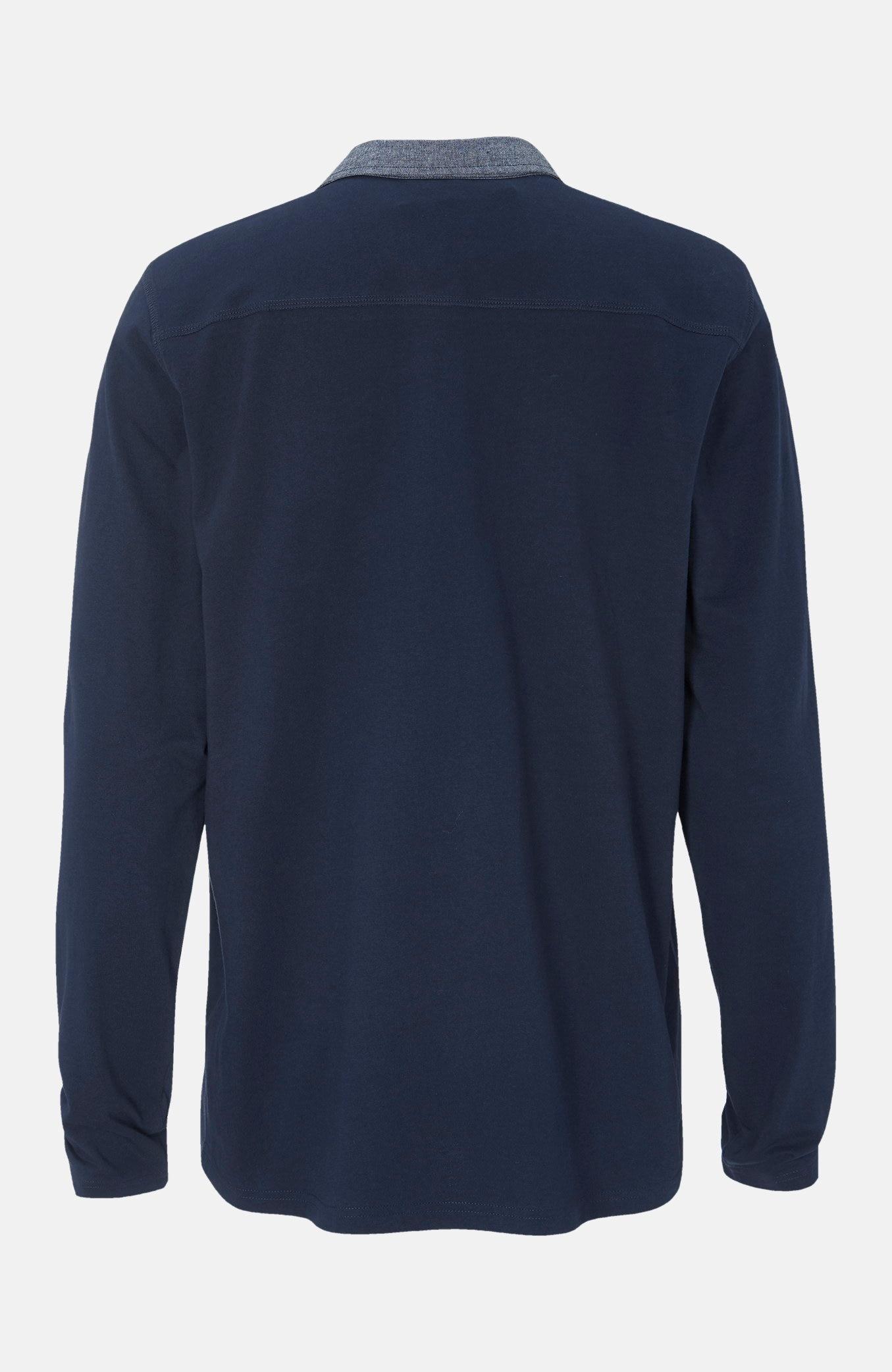 Krae ja pikkade varrukatega mugav džemper