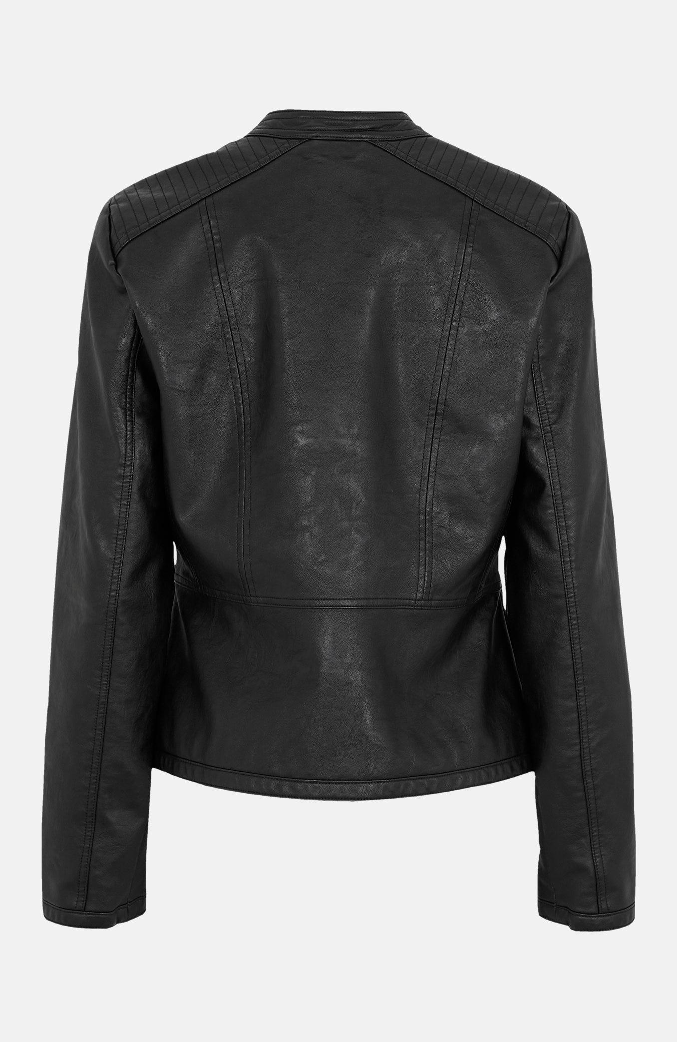 Naha imitatsiooniga materjalist jakk